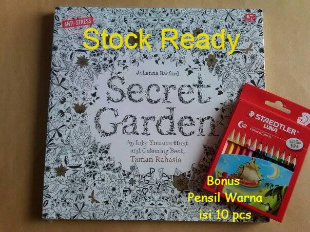 Ulasan Produk Secret Garden Taman Rahasia Coloring Book For Adults