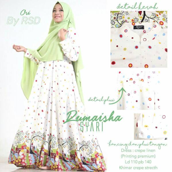 Supplier hijab ; Rumaisa syari by rissaditya
