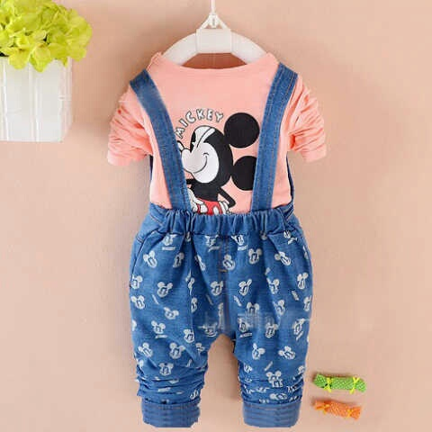 CGL-#241845 - st mickey overall denim