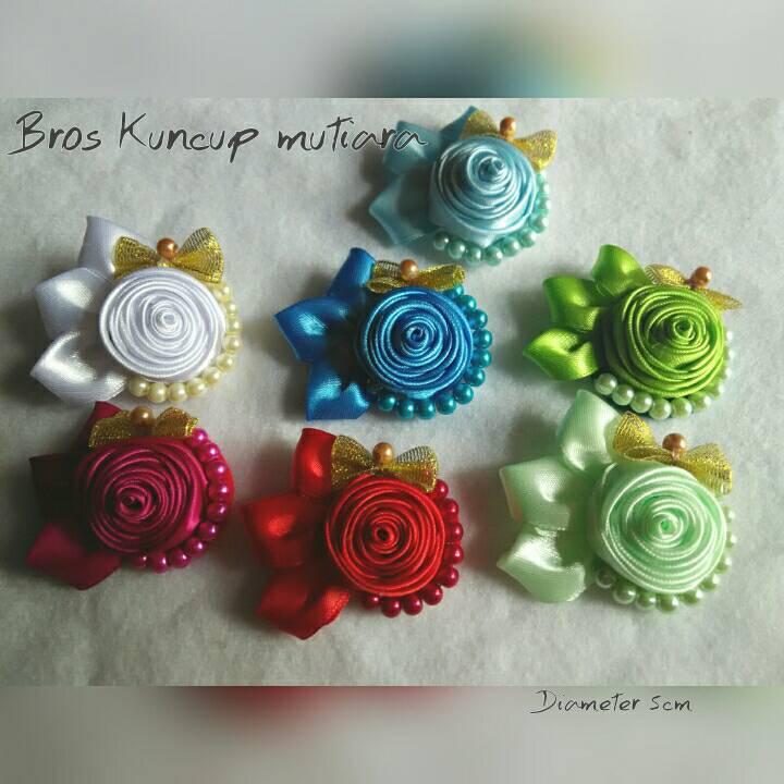 Bross Kuncup Mutiara / Souvenir Bross / souvenir hijab