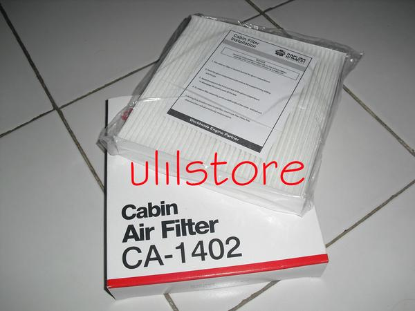 Filter ac cabin ertiga , new sirion, jazz < 2007,  Agya , Grand max