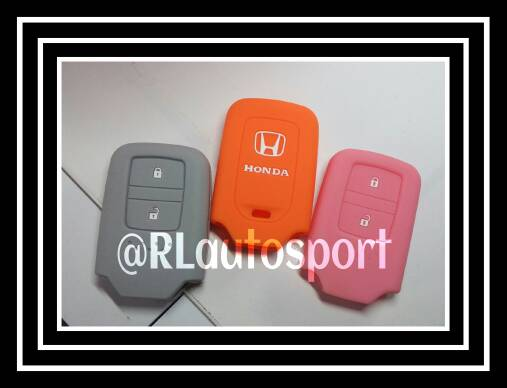 Kondom kunci casing remote silikon Honda All New jazz 2014 RS