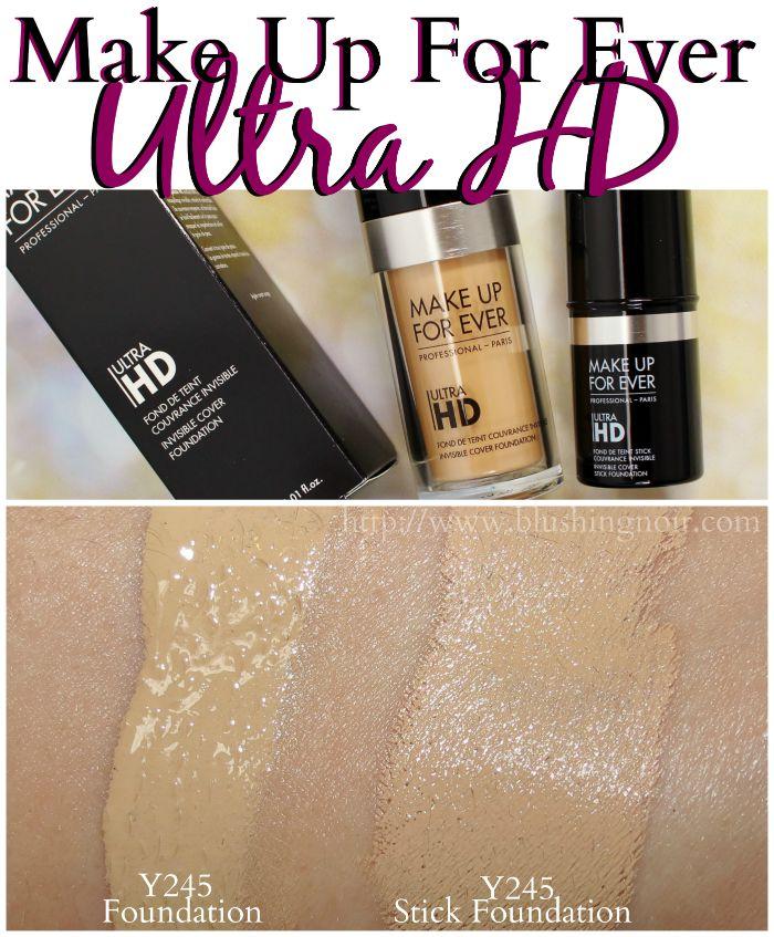 Ultra hd make up forever nr y245 i y225