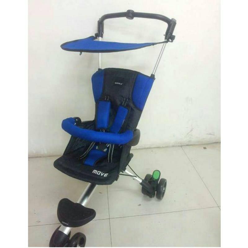 stroller BabyElle Move Royal Blue Murah