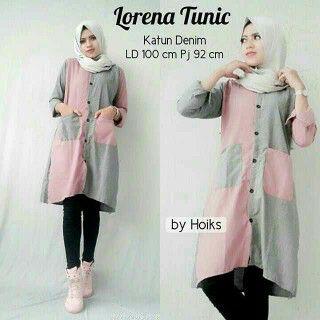 Baju Hijab Terbaru - Lorena Tunik