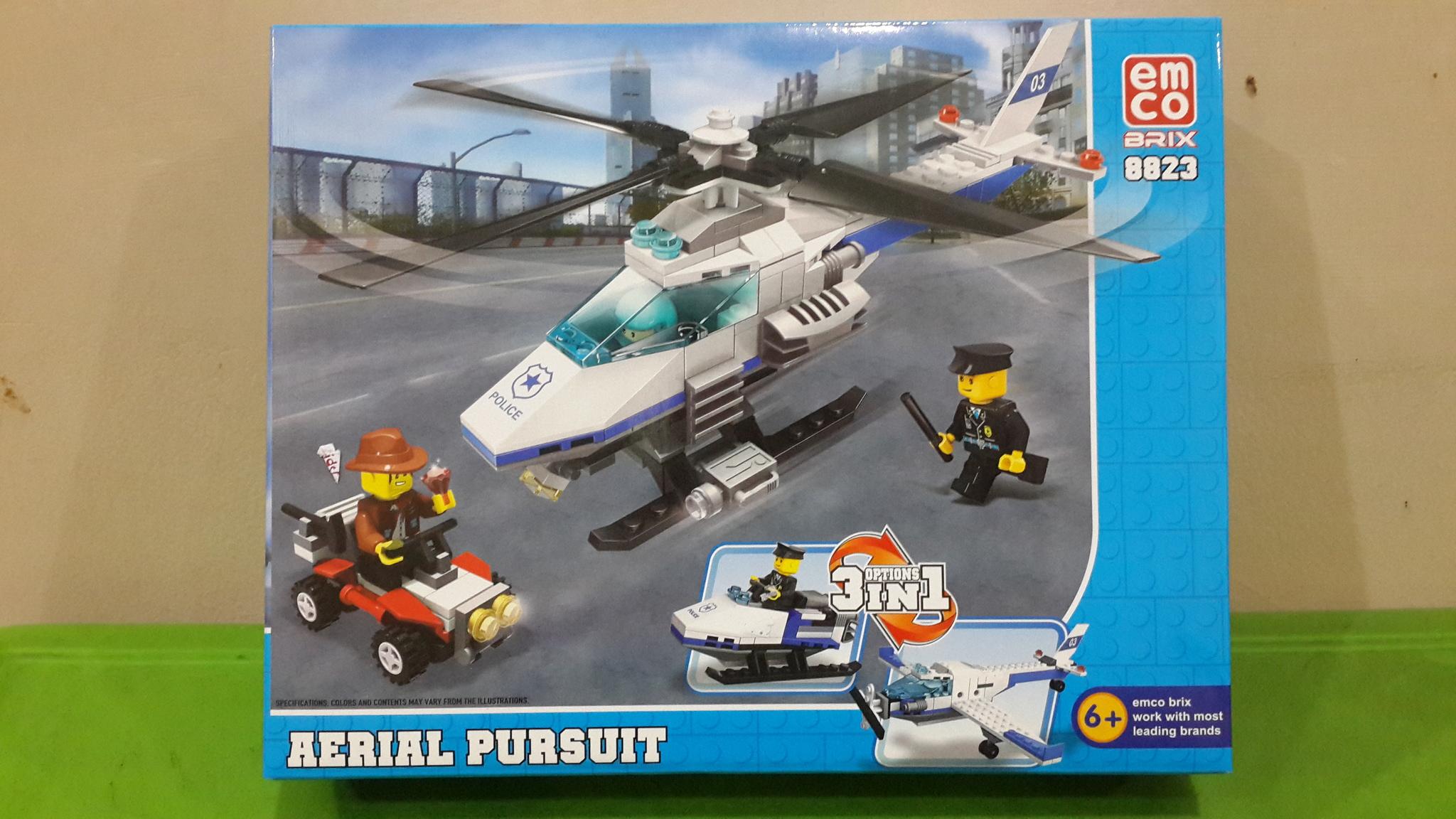 Emco Brix 3in1 Military 8601 8608 Satuan Daftar Harga Terbaru Source · Jual Lego Emco Brix 3 in 1 aerial pursuit 8823 Belle baby shop