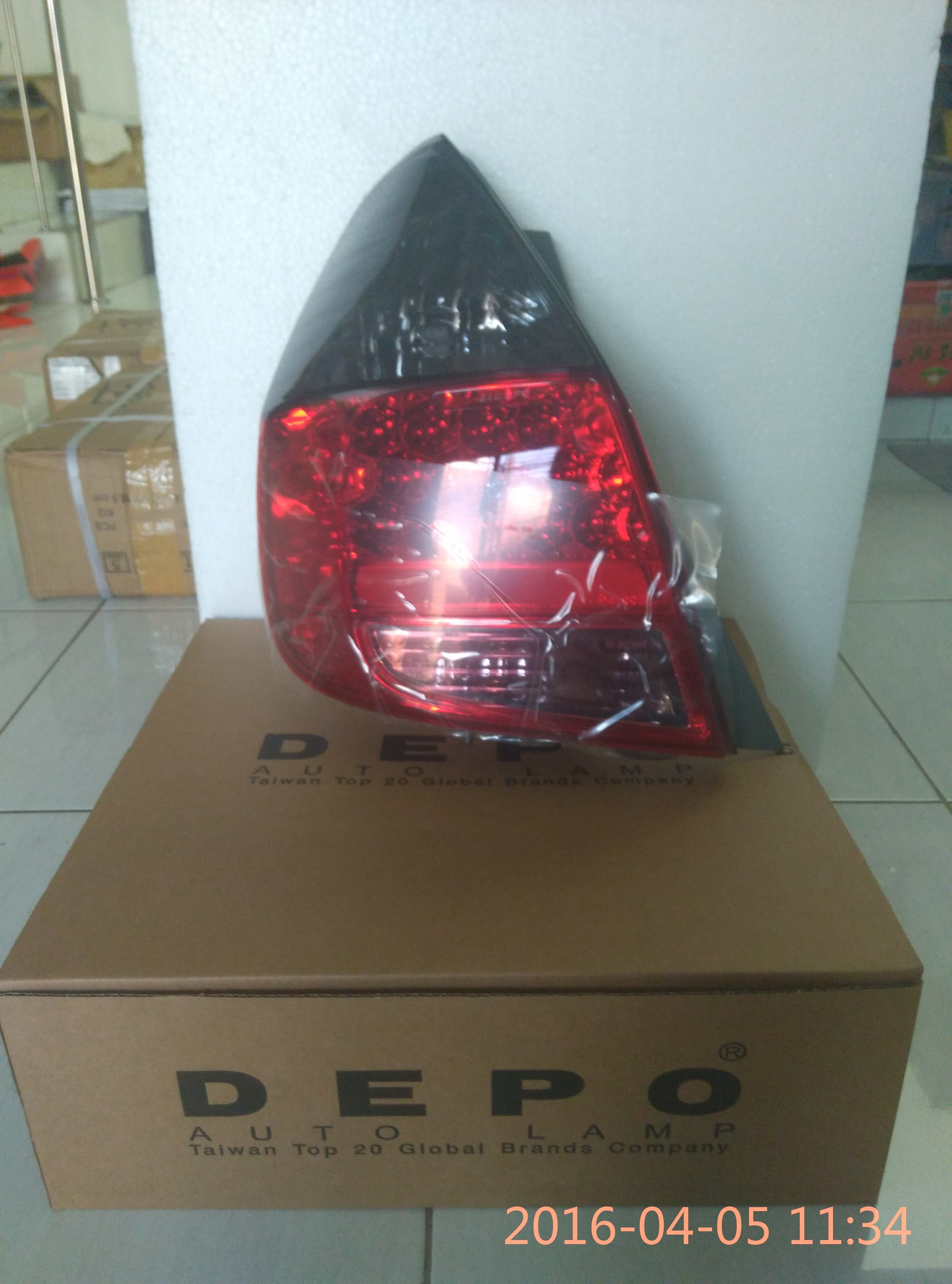 STOP LAMP MOBIL JAZZ 2004 (LED/SMOKE/RED)