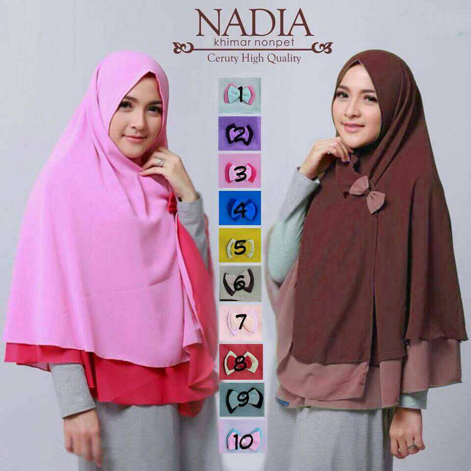 kerudung / hijab / Nadia syar'i