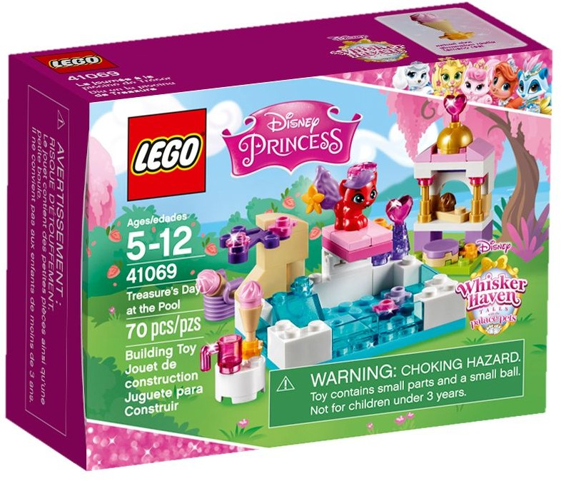 LEGO # 41069 DISNEY PRINCESS Treasures Day at the Pool