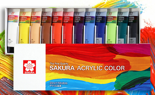Cat Akrilik Sakura 20ml / Sakura Acrylic Colour 20ml