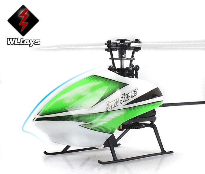 RC Helicopter WLtoys V930 Flybarless 4CH 6Axis Brushless RTF