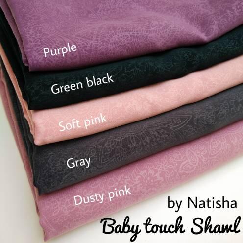 BABY TOUCH SHAWL pashmina premium jilbab hijab grosir