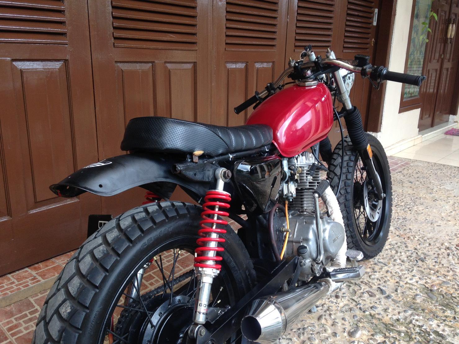 101 Modifikasi Motor Cb 100 Cafe Racer Modifikasi Motor Honda CB