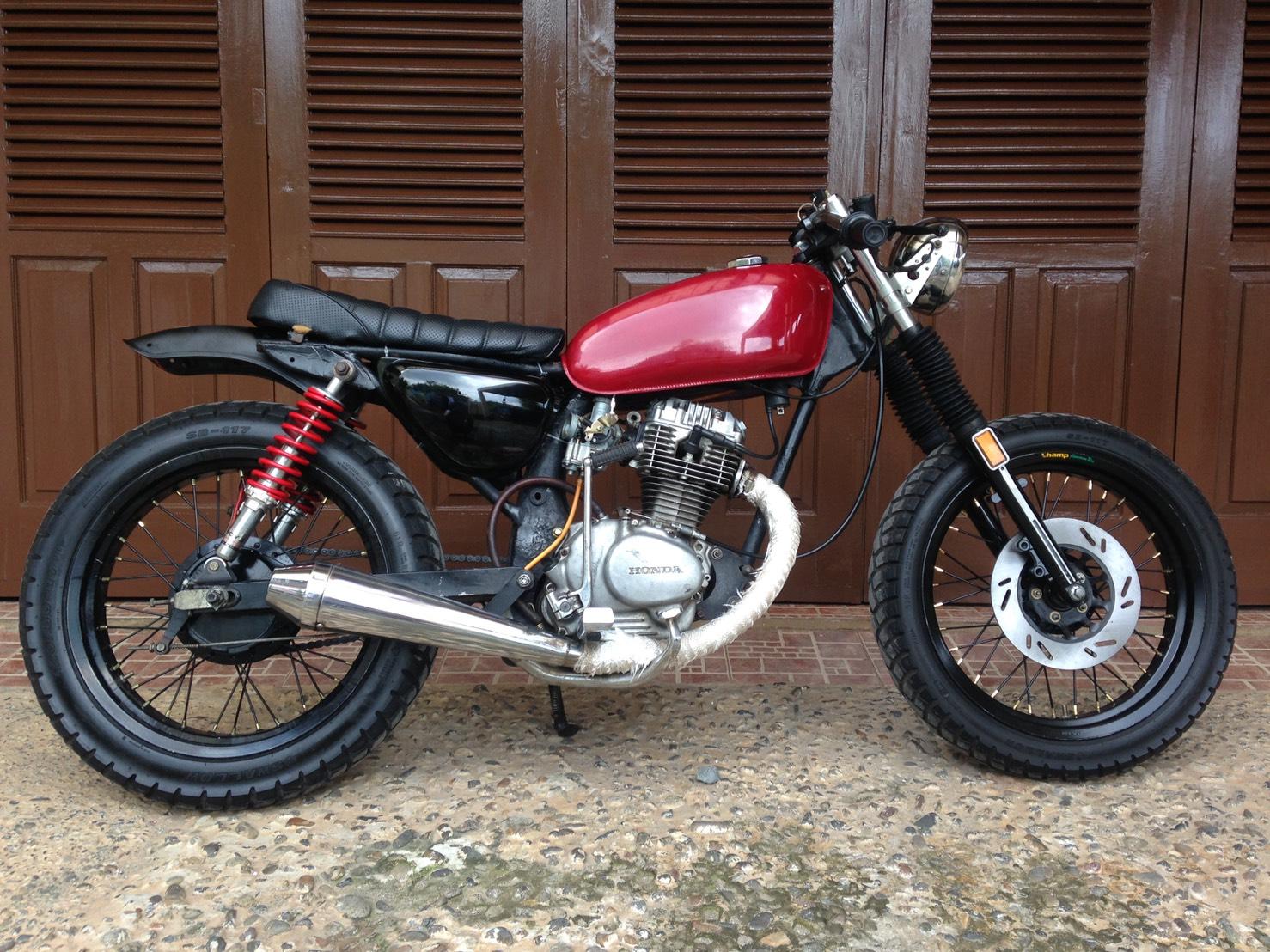 107 Modifikasi Motor Scorpio Menjadi Cb Modifikasi Motor Honda CB
