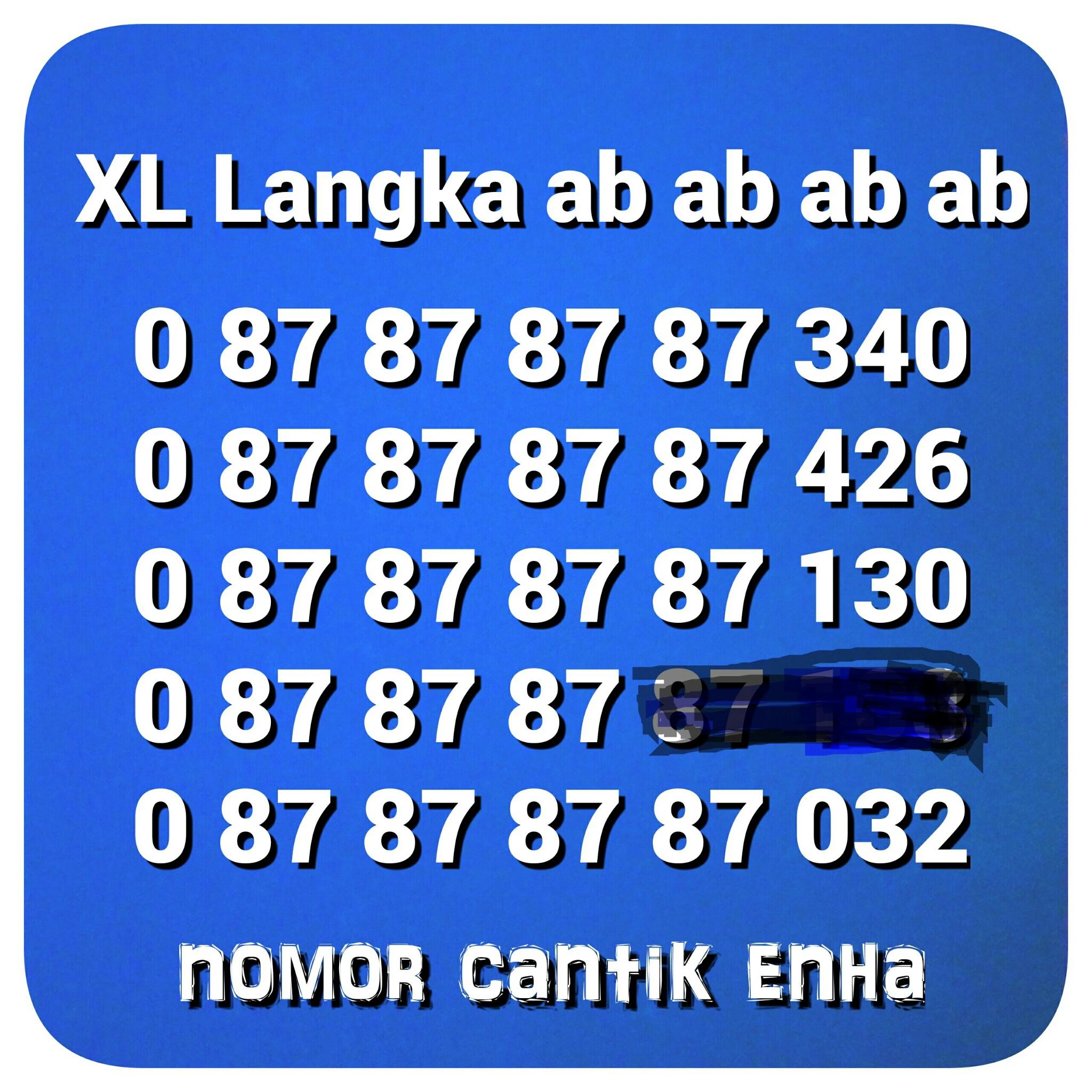 nomor cantik xl langka ab ab ab 0 87 87 87 87 xxx