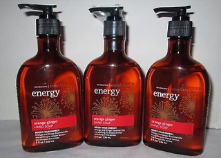 BBW Aromatherapy Set - Orange Ginger Hand Soap Set