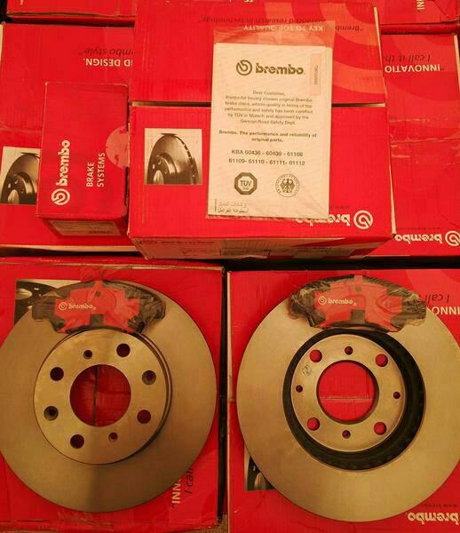 Brake Disc & Brake Pad BREMBO Honda Jazz GD3 Front