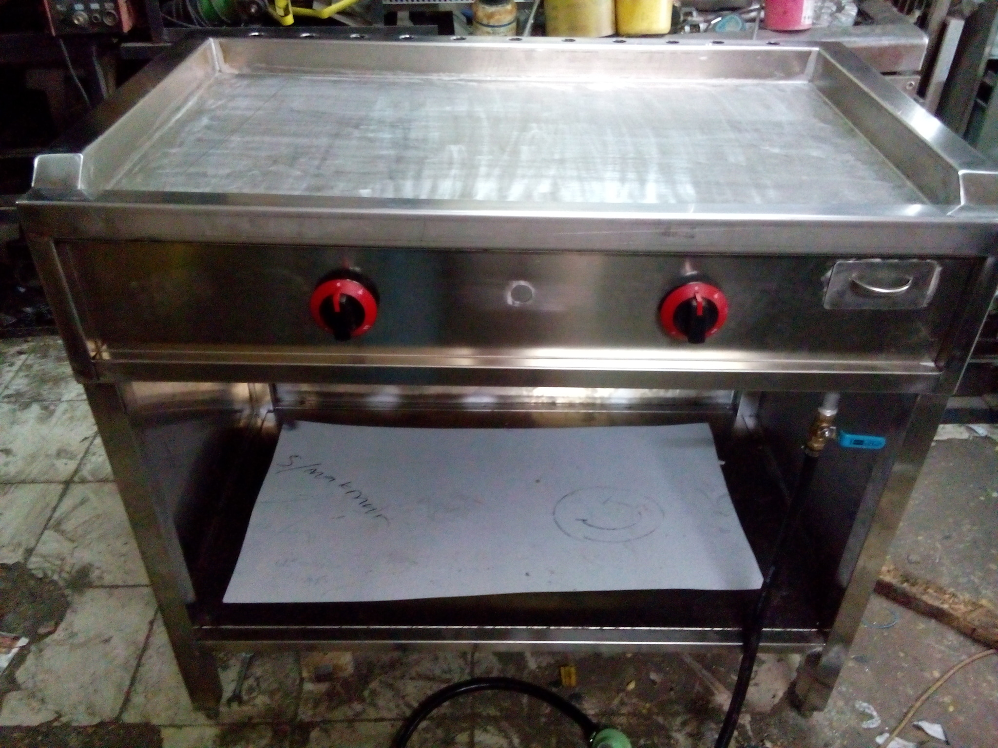 Jual Griddle Gas Tepanyaki Portable Burger Grill Flat Top Surya Makmur Tokopedia