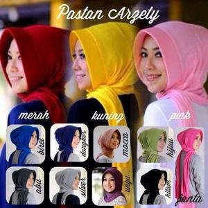 Fashion Busana Muslim Kerudung Jilbab Hijab Pastan Arzety