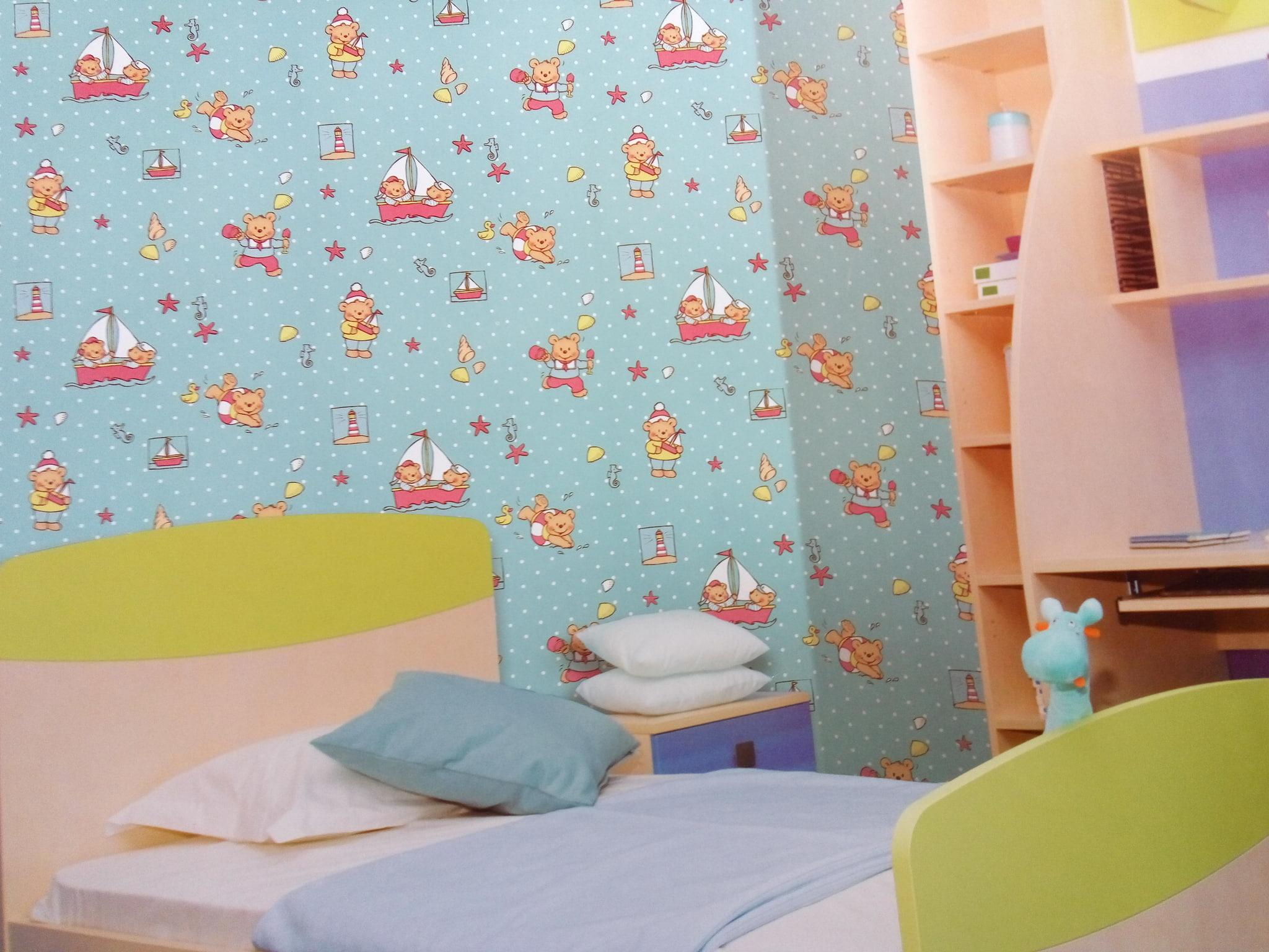 Jual Wallpaper Dinding Motif Anak Aurora Wallpaper Tiga Tokopedia