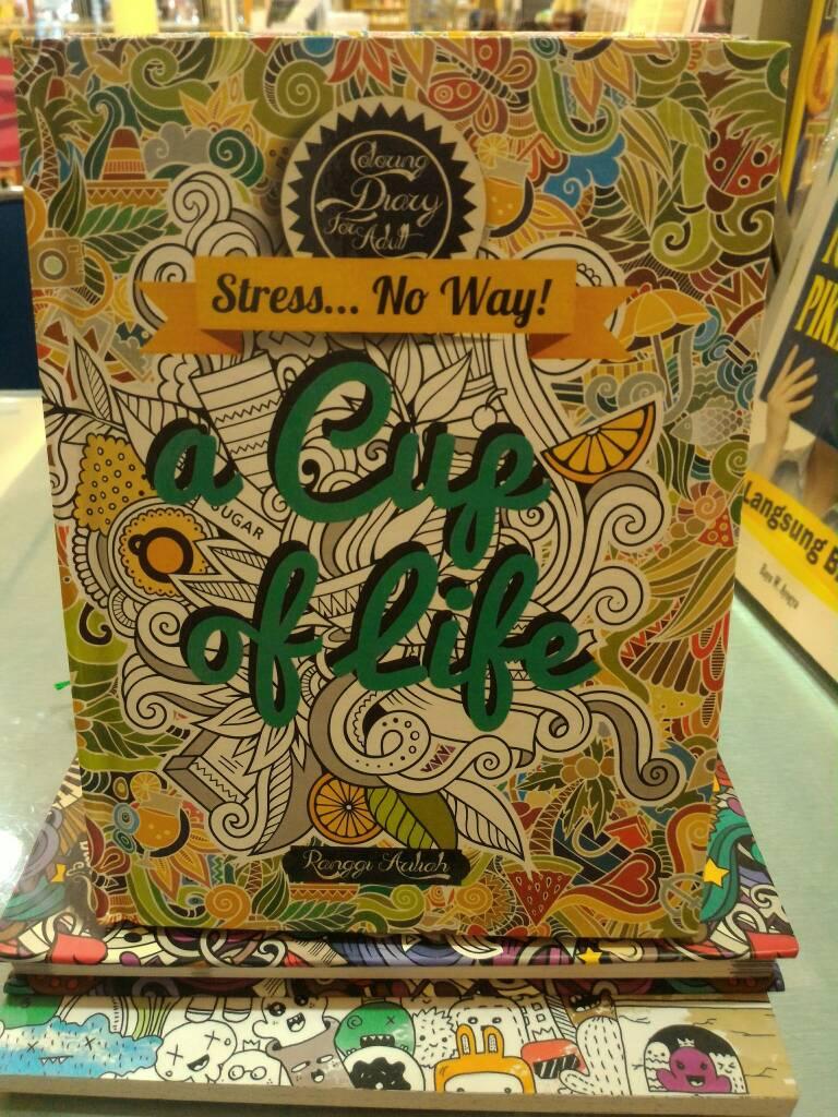 Coloring book untuk dewasa - A Cup Of Life Coloring Books Untuk Dewasa