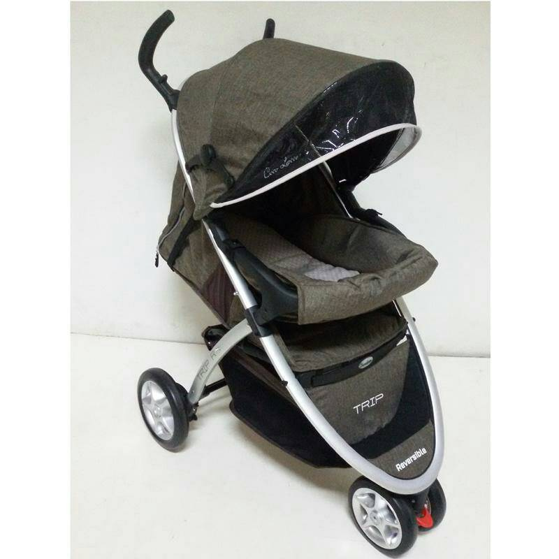 stroller Cocolatte Trip Rb908 W5CF Coklat Murah