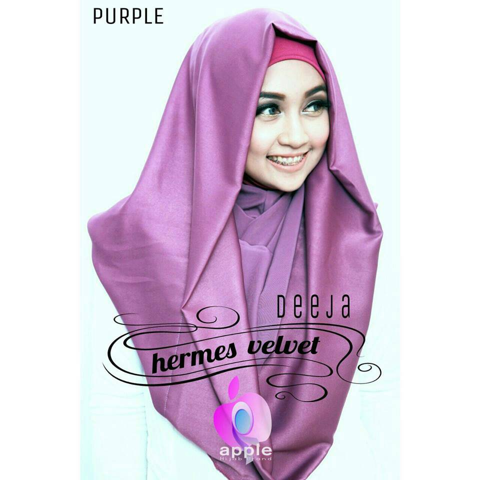 Deeja Hermes Velvet by Apple Hijab Brand