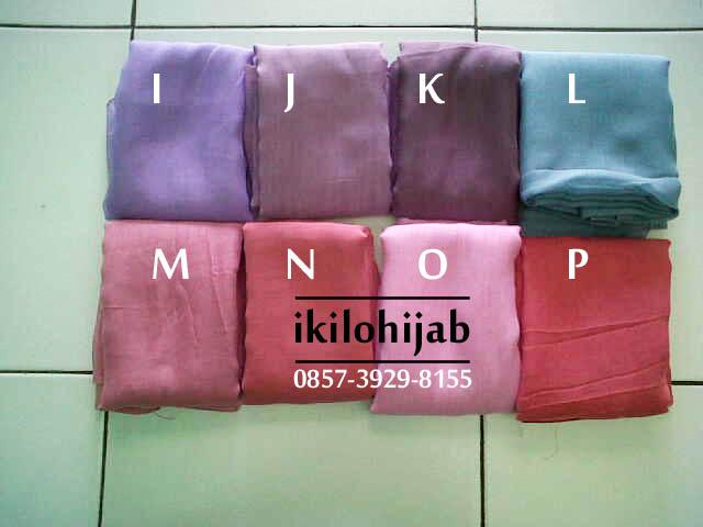 Jilbab polos paris segiempat / hijab  pasmina scraft shawl