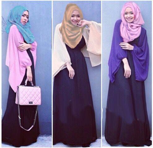 CDF_KEISHA HIJAB 3in1 / setelan hijab