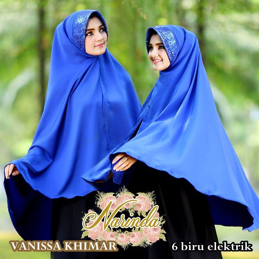 khimar / bergo / hijab / jilbab syari vanissa premium