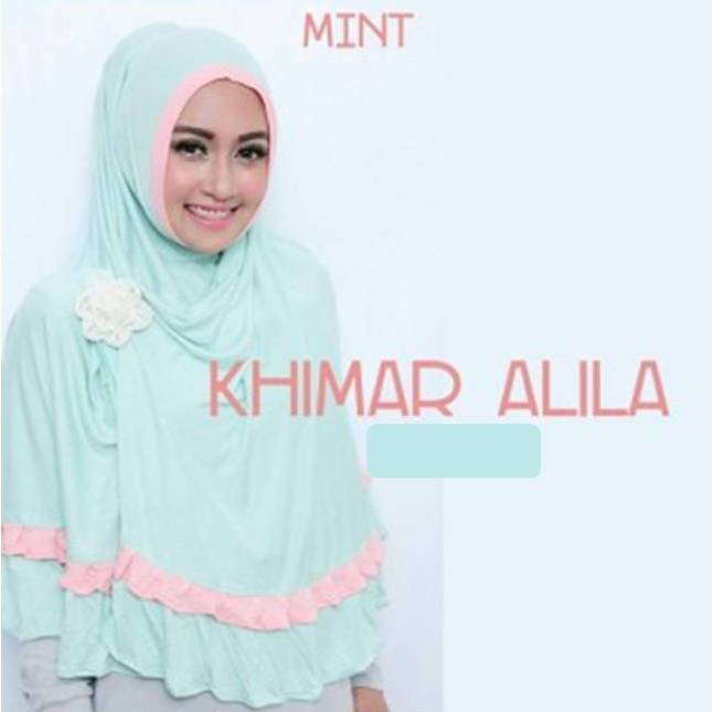 Khimar / bergo / hijab / jilbab syari instan alila