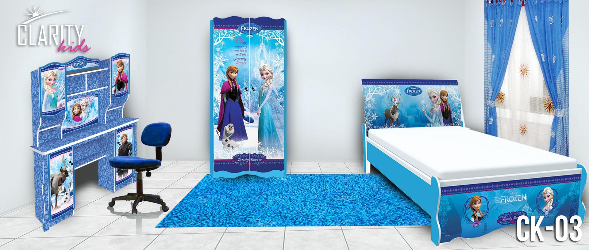 25 Kamar Tidur Anak Karakter Frozen Sisi Rumah Minimalis