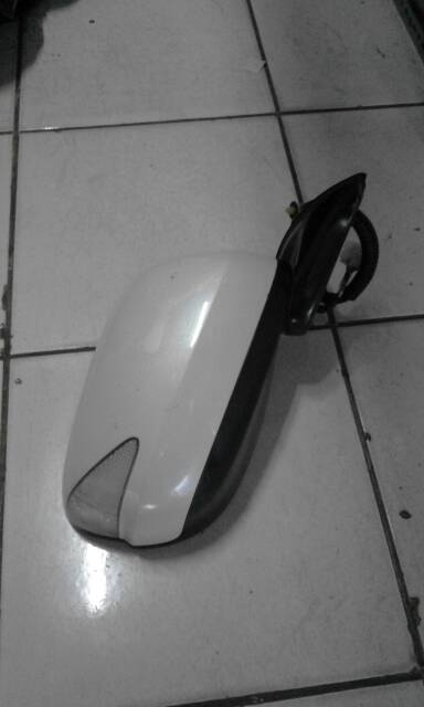 Spion Jazz Rs Putih Metalik ( Mutiara )