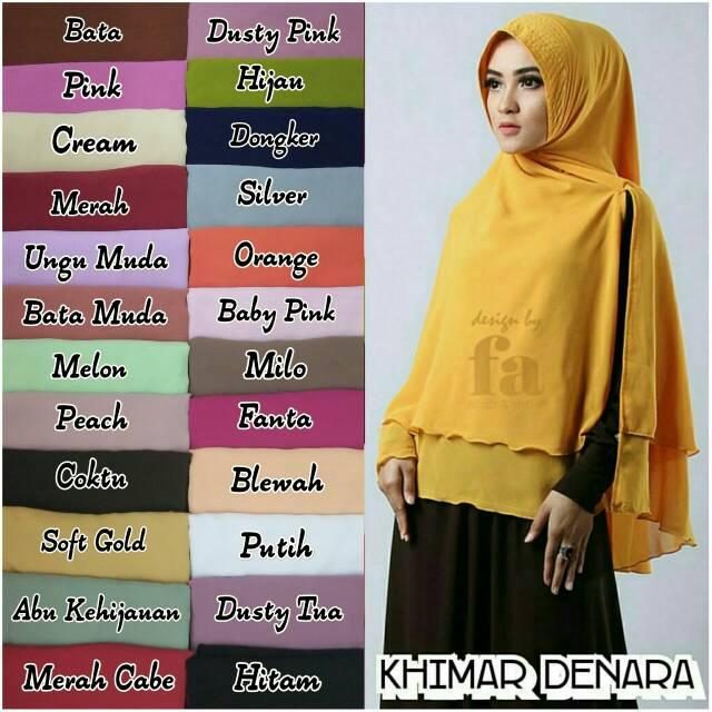 Khimar Denara Ori Fa Hijab