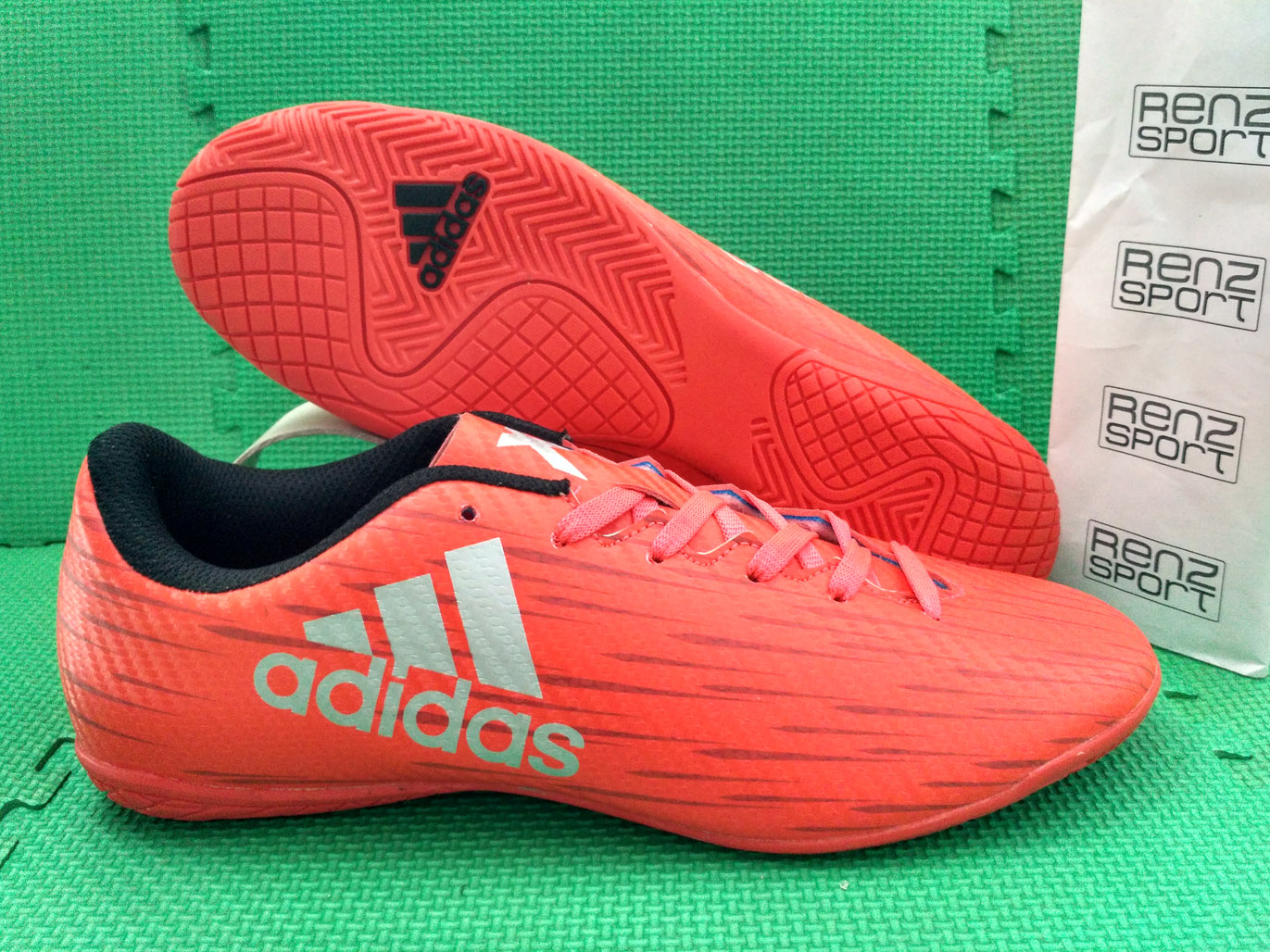 Jual Sepatu Futsal ADIDAS X CHAOS 16.1 IC Red - Renz Sport ... 84dcd65aee