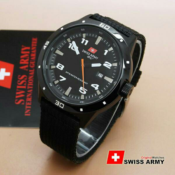 Swiss Army Original SA1440 Jam Tangan Pria Full Stainless Steel. Source · Tangan Wanita elevenia Source · Jual Jam SA Swiss Army Tali Kain Kanvas .
