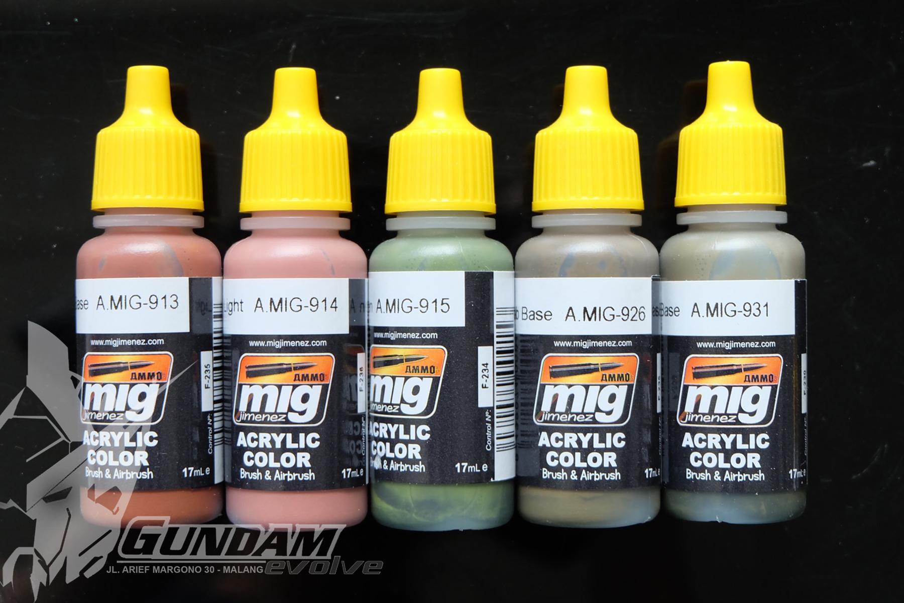 MIG Acrylic Paint (17ml) : Modulation Selection
