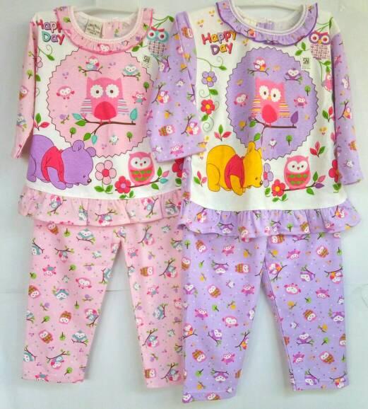 jual baju setelan piyama tidur anak perempuan murah berkualitas pilar mas shop tokopedia
