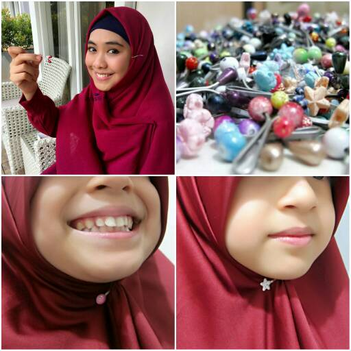 Klip Hijab Made by Wavy Turkish Hijab Clip Klip Jilbab