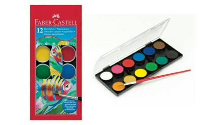 Watercolour Faber Castell Paint Cake