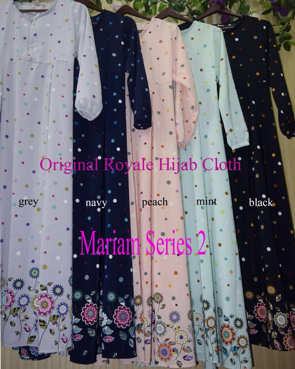 SUPPLIER HIJAB : MARIAM SERIES 2 BY ROYALE