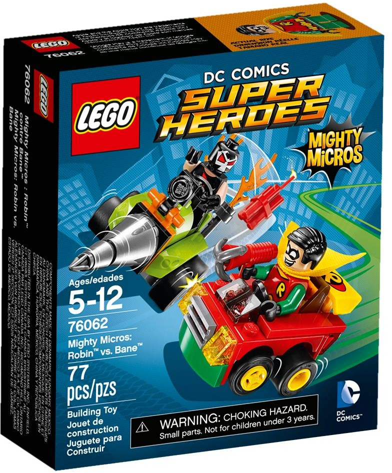 LEGO 76062 - Super Heroes - Mighty Micros: Robin vs. Bane