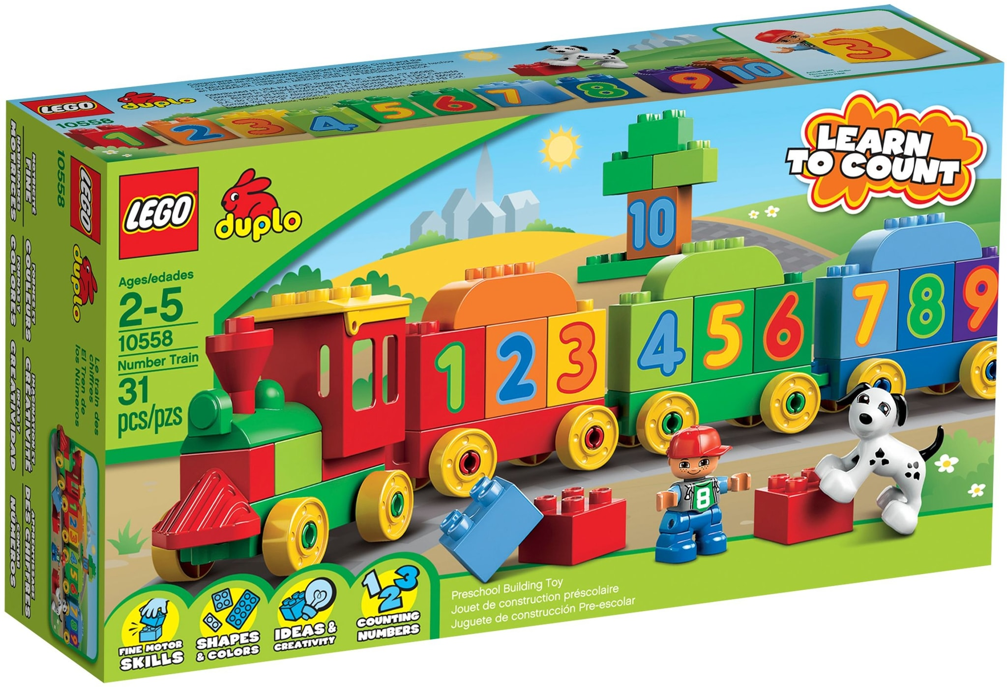 LEGO 10558 - Duplo - Number Train
