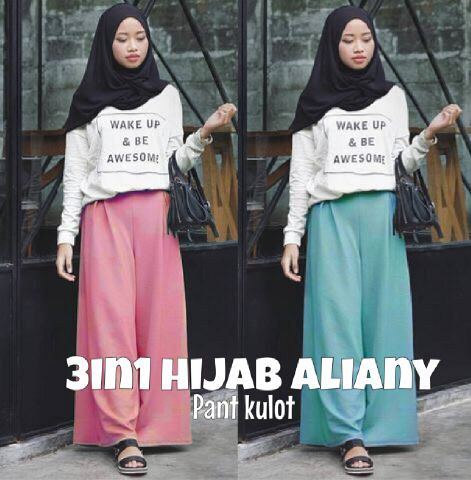 3in1 set hijab ALIANY