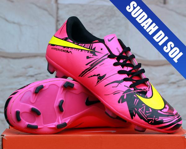 Jual sepatu bola Nike Hypervenom Phantom II Neymar Pink(terbaru ... 5b9f52847f