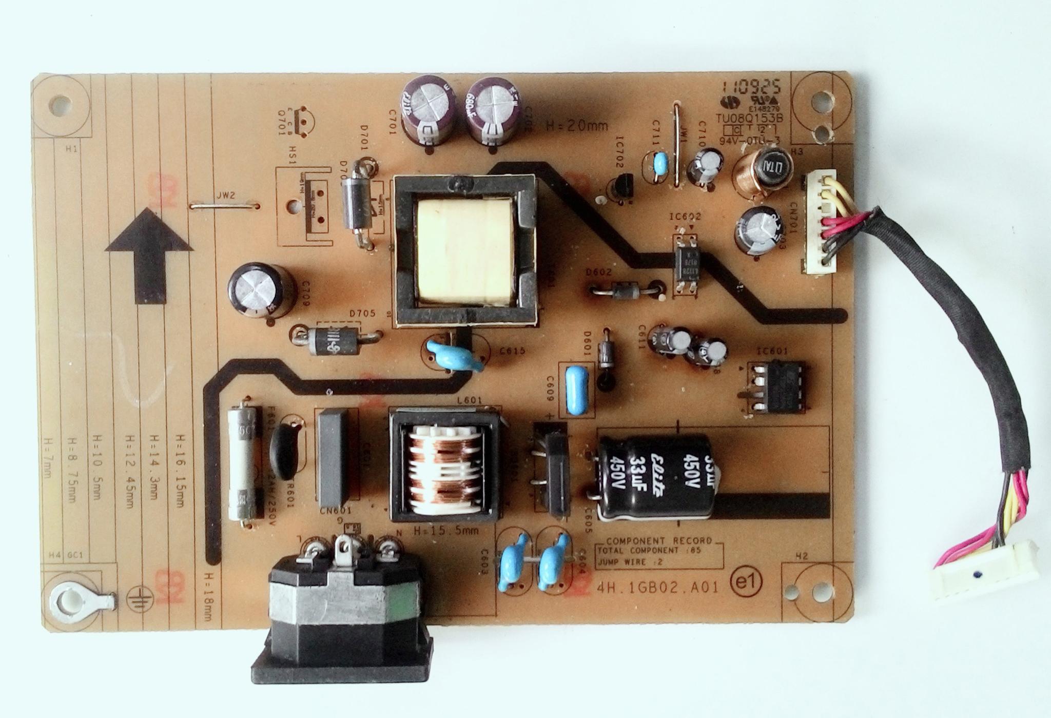 Jual Power Supply Monitor LED ACER P166HQL