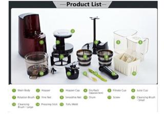 Jual HUROM Slow Juicer HU-600WN - Senahoj Online Store Tokopedia