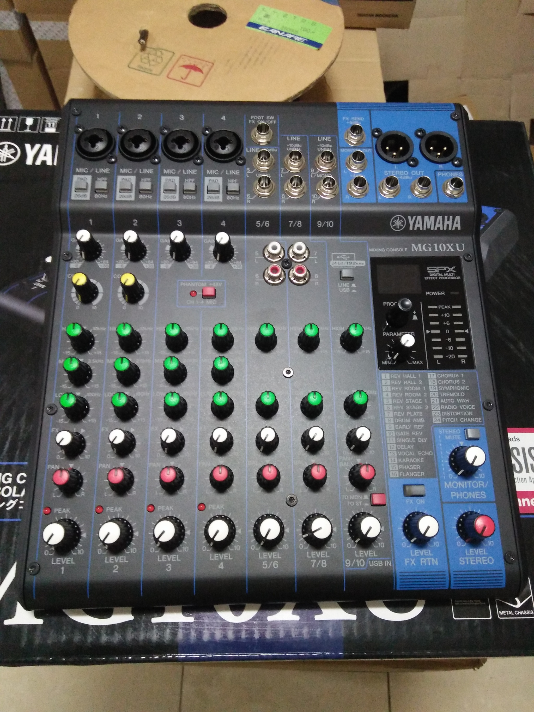Jual Mixer Yamaha Mg10xu Gudang Audio Tokopedia