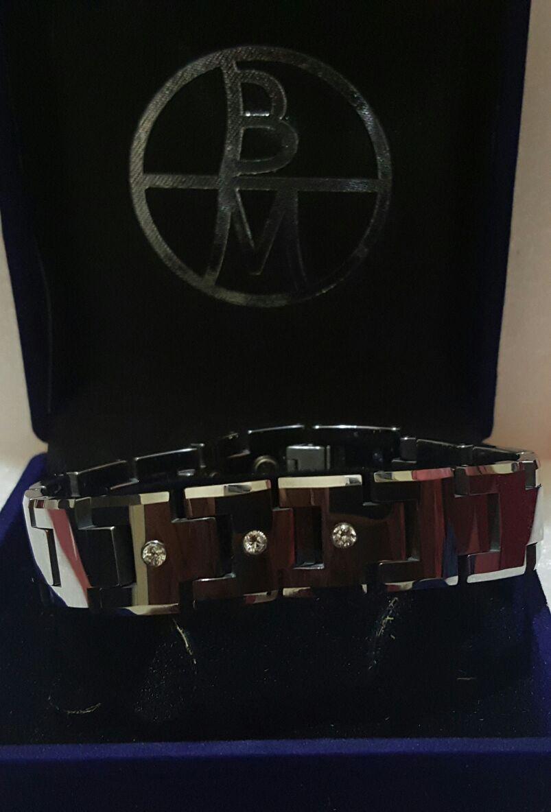 Jual Gelang Kesehatan Tungsten Carbite Bio Magnetic Bracelet Tcz 9000 Criss Tokopedia
