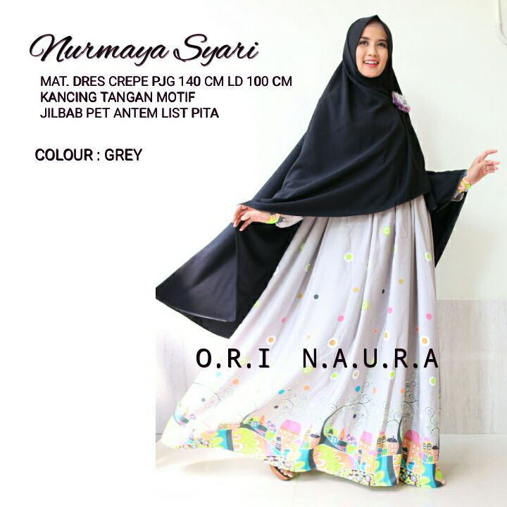SUPPLIER HIJAB : NURMAYA SYARI BY NAURA